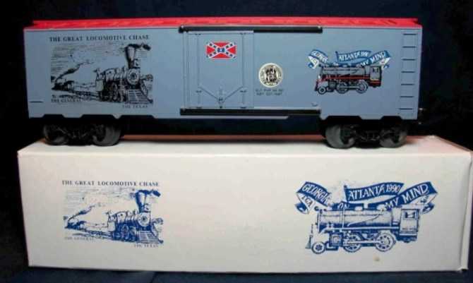 TCA Great Locomotive Chase boxcar