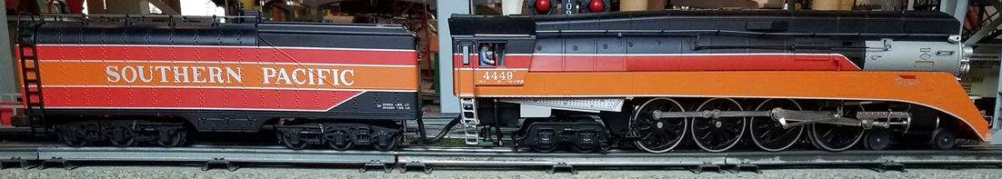 MTH Southern Pacific GS-4 steam locomotive