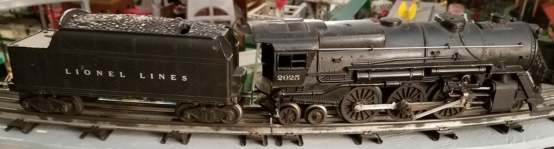 Lionel Postwar 2025 2-6-4 steam locomotive