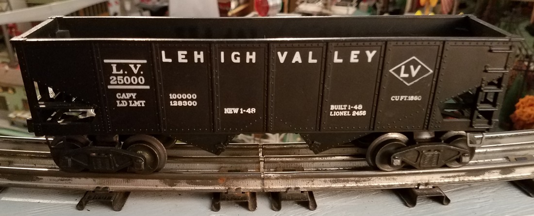 Lionel Postwar 2456 Lehigh Valley hopper