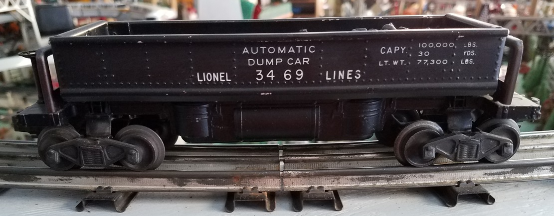 Lionel Postwar 3469 Automatic Dump Car