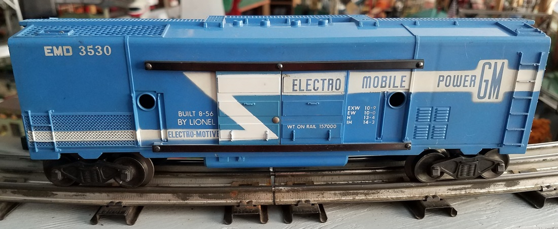 Lionel Postwar 3530 Electro Mobile Power Generator Car