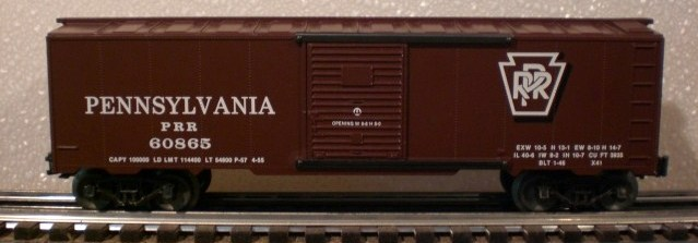 Frank's Roundhouse PRR boxcar