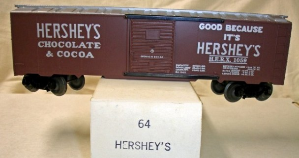 Frank's Roundhouse Hershey's boxcar