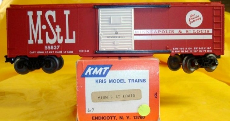 Frank's Roundhouse M&StL boxcar