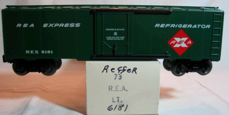 Frank's Roundhouse REA Express refrigerator car