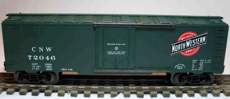 Frank's Roundhouse CNW refrigerator car