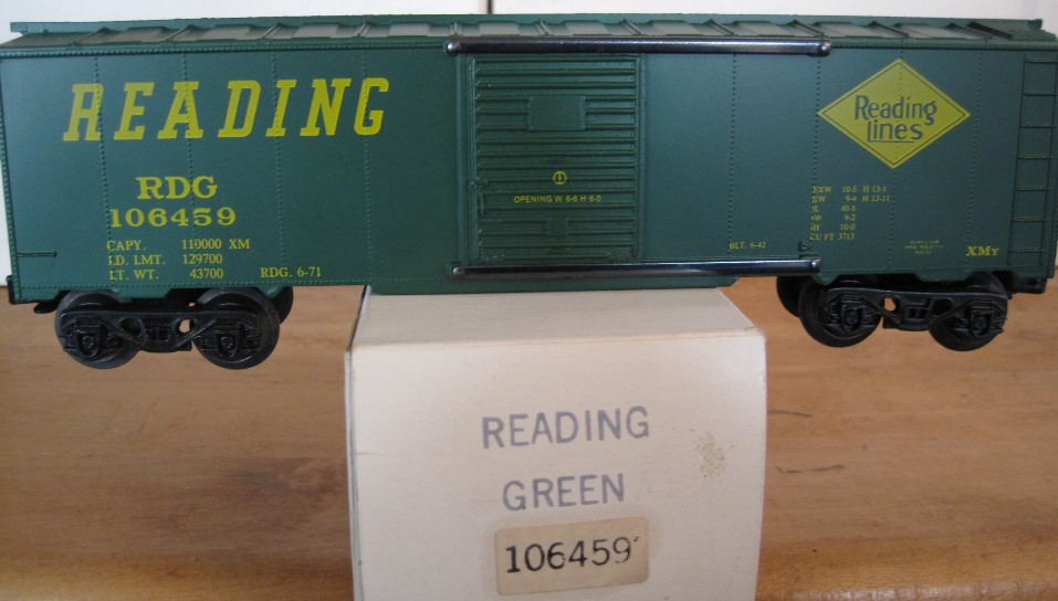 Frank's Roundhouse Reading boxcar