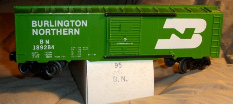 Frank's Roundhouse Burlington Northern boxcar