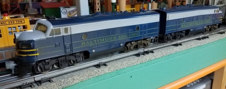 Baltimore & Ohio F-7 locomotives
