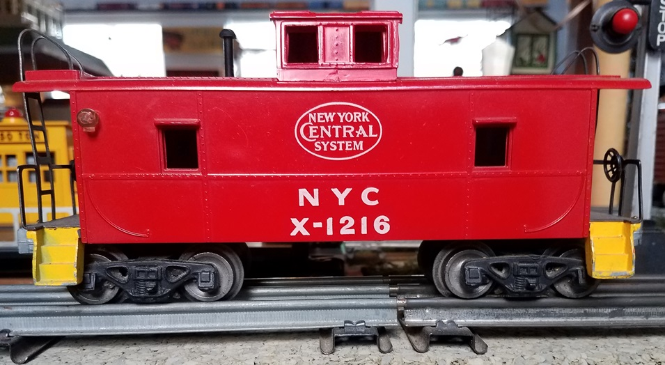 AMT New York Central caboose with yellow steps