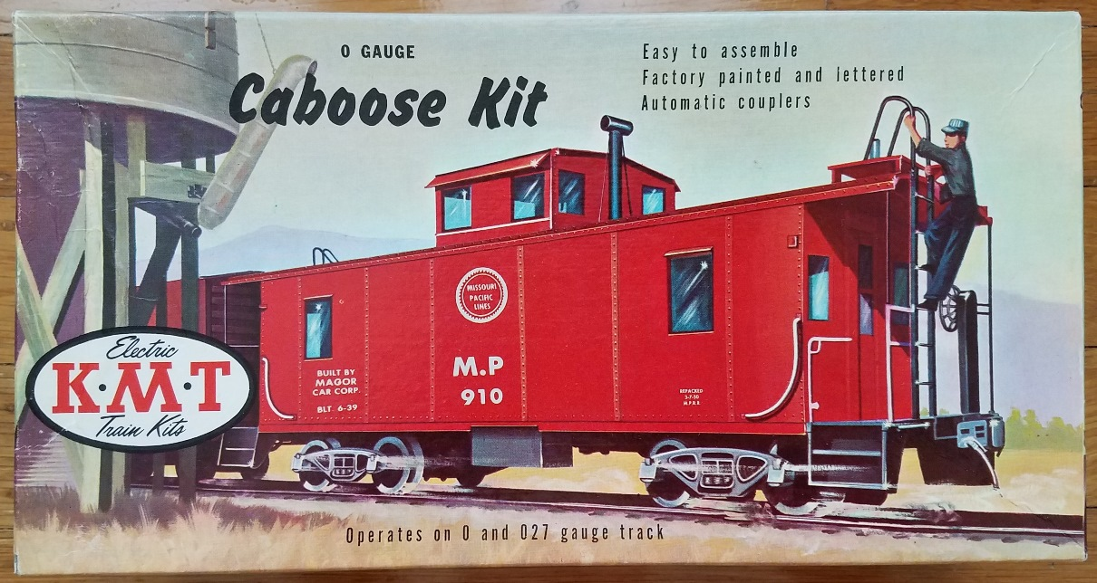 Caboose Kit box