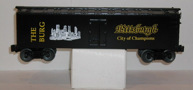 Pittsburgh City of Champions refrigerator car