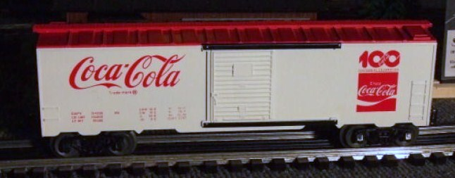 Frank's Roundhouse Coca-Cola boxcar