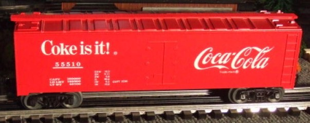 Frank's Roundhouse Coke refrigerator car