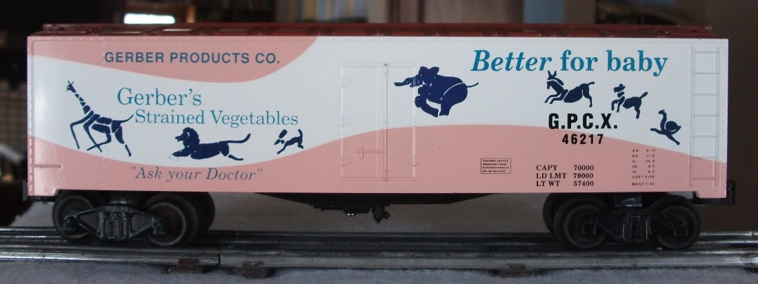 Williams Gerber Products refrigerator car - side 2