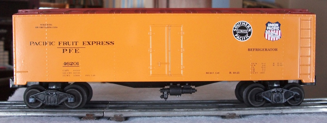 Williams Pacific Fruit Express refrigerator car