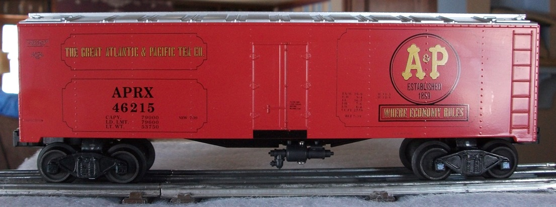 Williams A&P refrigerator car