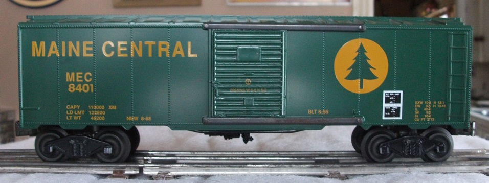 Williams Maine Central boxcar