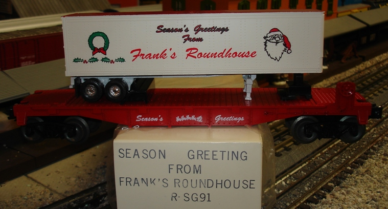 Frank's Roundhouse Season's Greetings TOFC