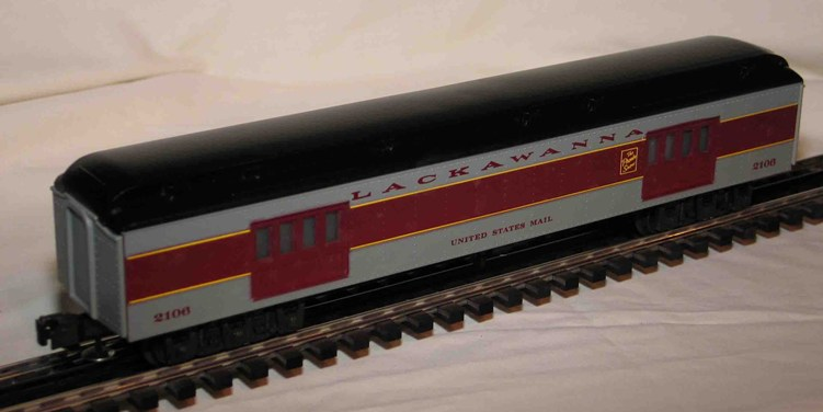 Lackawanna U.S. Mail Baggage Car