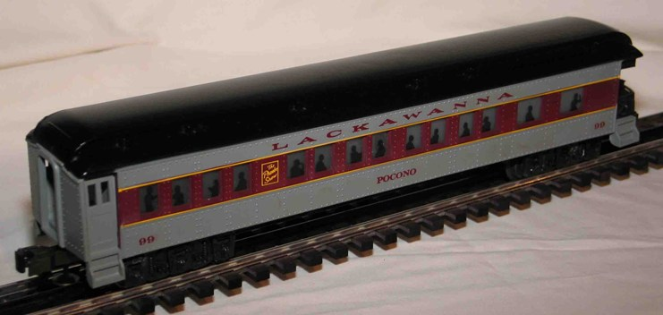 Lackawanna Pocono Observation Car