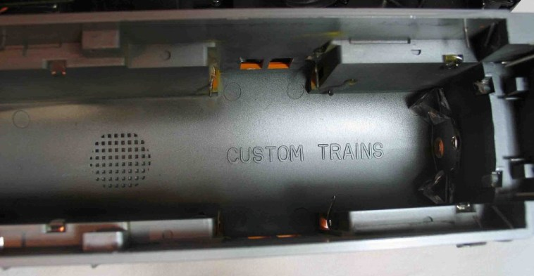 FM Trainmaster shell inside