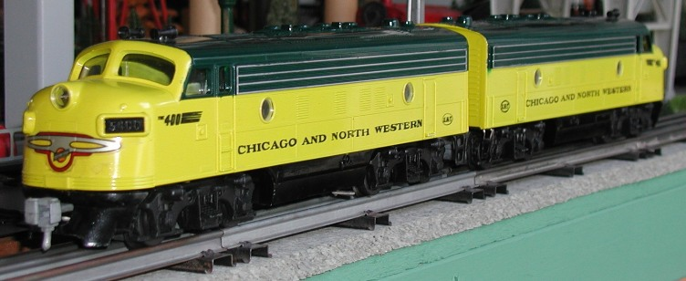 Chicago & North Western F-7 DUO-TRAC