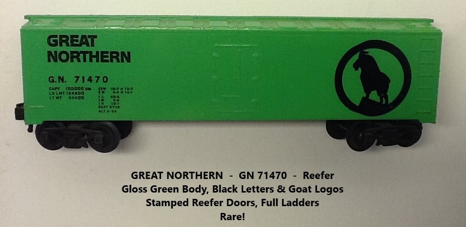 Kris Great Northern 71470 gloss green refrigerator car