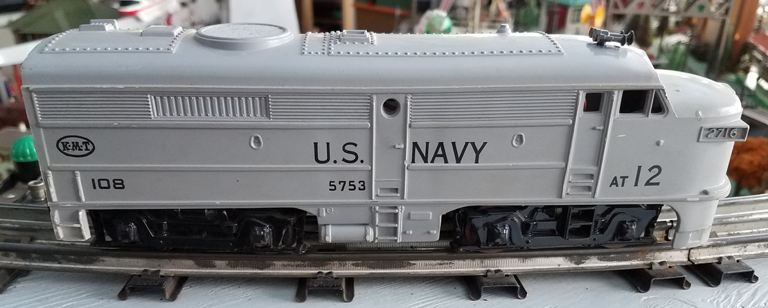 US Navy locomotive