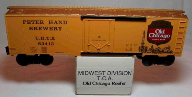Frank's Roundhouse Old Chicago refrigerator car