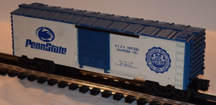 Penn State 1982 Football Champions boxcar