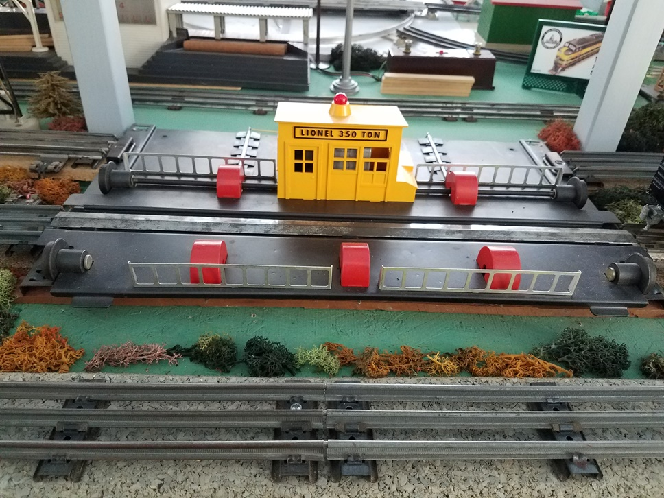 Lionel # 350 Engine Transfer Table