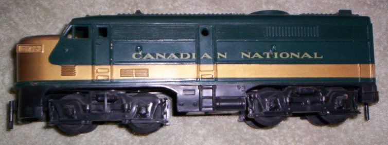 Canadian National prototype Alco locomotive