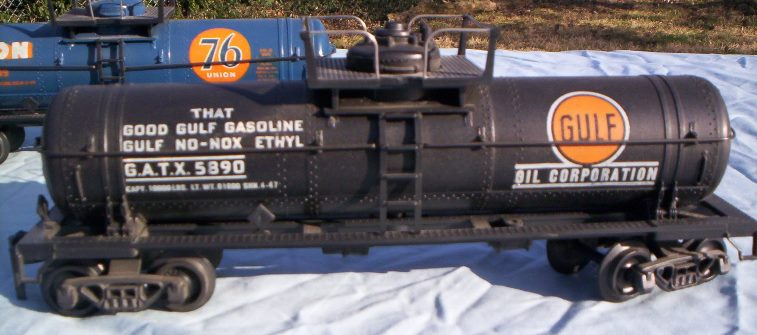 Gulf prototype tank car