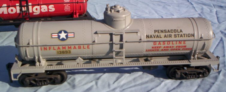 Pensacola Naval Air Station prototype tank car
