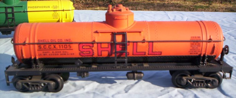 Shell prototype tank car