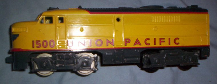 Union Pacific prototype Alco locomotive