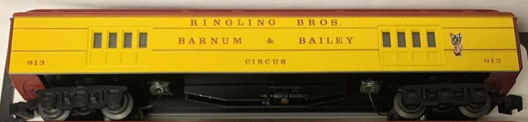 Ringling Brothers and Barnum & Bailey Circus baggage car
