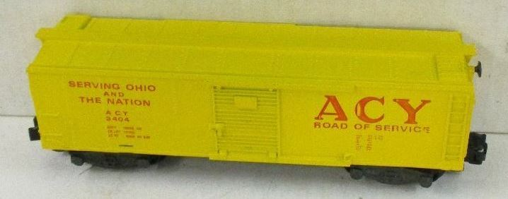 Kris S gauge Akron, Canton and Youngstown 3404 boxcar