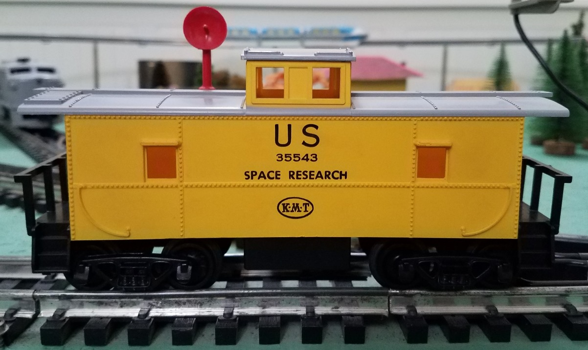 Satellite Train Space Research car