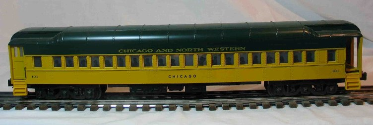 Chicago and North Western 101 coach car