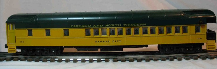 Chicago and North Western 106 observation car