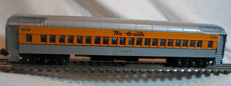 Denver & Rio Grande 4107 coach car