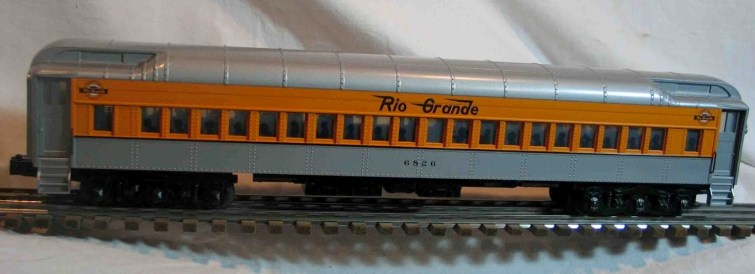 Denver & Rio Grande 6826 coach car