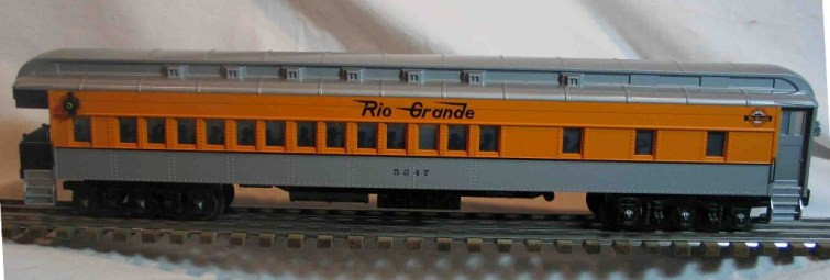 Denver & Rio Grande 5247 observation car