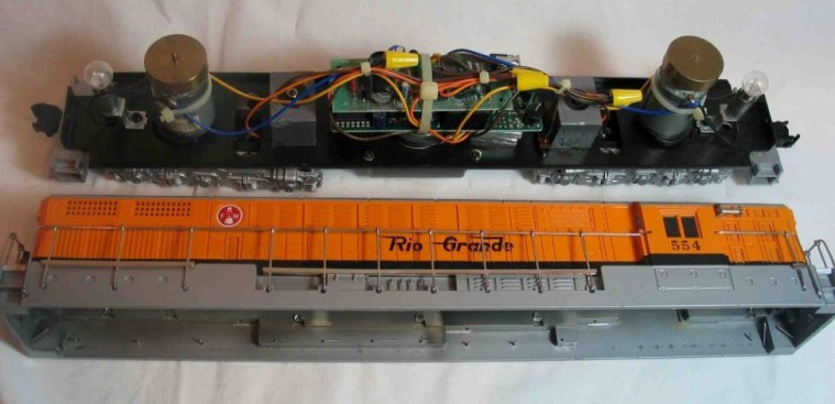 FM Trainmaster shell and running gear