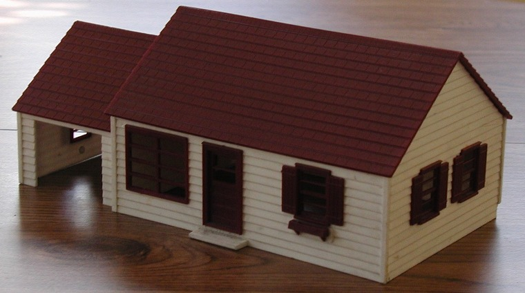 Skyline Westchester plastic house kit front view 2