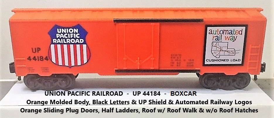 Kris Union Pacific 44184 orange boxcar