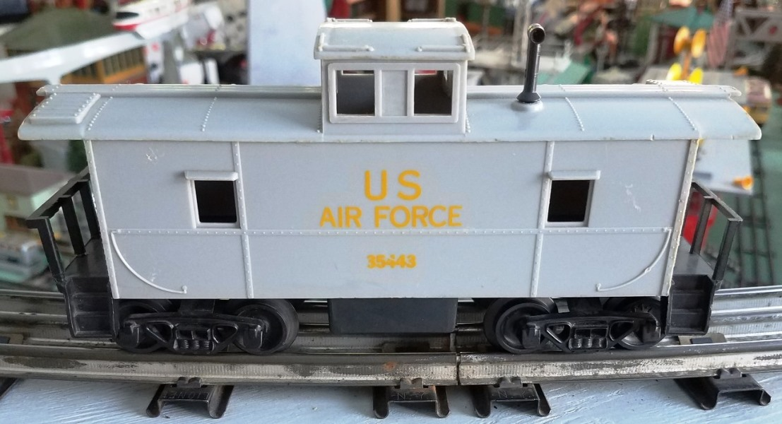 U.S. Air Force caboose